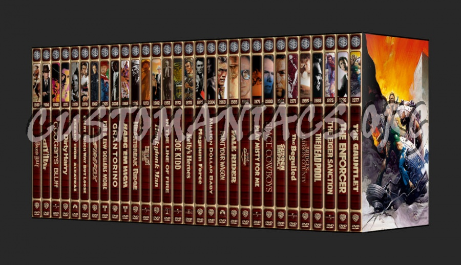 The Signature Series - Clint Eastwood dvd cover