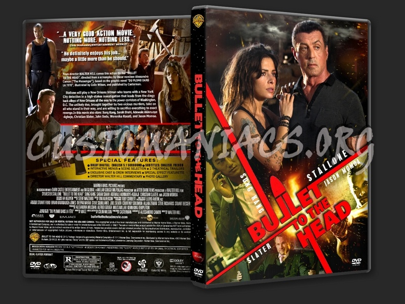Bullet To The Head (2013) dvd cover
