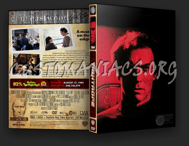 Tightrope dvd cover