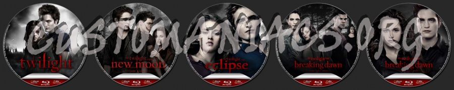 The Twilight Saga blu-ray label