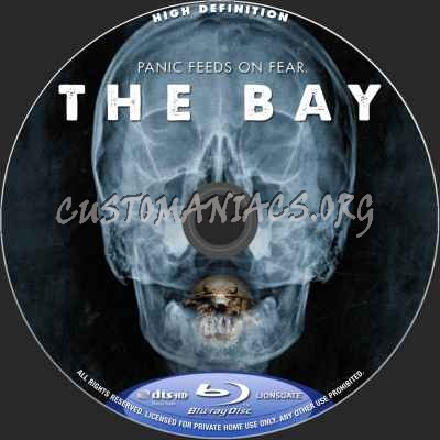 The Bay blu-ray label