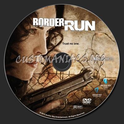 Border Run (aka The Mule) dvd label