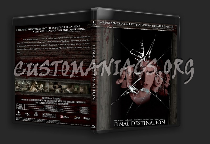 Final Destination blu-ray cover