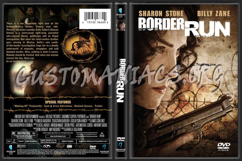 Border Run (aka The Mule) dvd cover