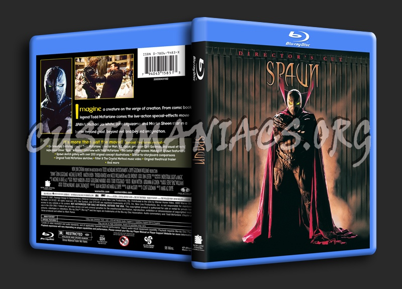 Spawn blu-ray cover