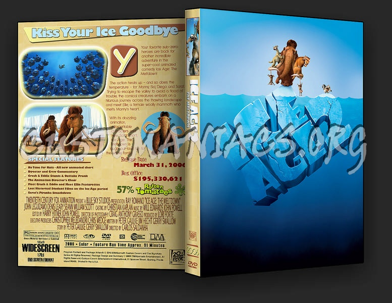 Ice Age The Meltdown Dvd Cover Dvd Covers Labels By Customaniacs Id 187572 Free Download Highres Dvd Cover