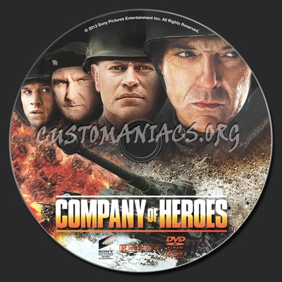 Company Of Heroes Dvd Label Dvd Covers Labels By Customaniacs Id 187643 Free Download Highres Dvd Label