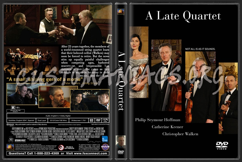 A Late Quartet dvd cover