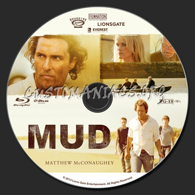 Mud blu-ray label