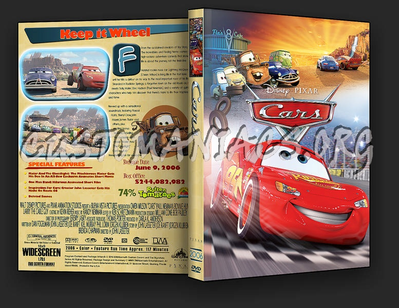 Cars Dvd Cover Dvd Covers Labels By Customaniacs Id 187849