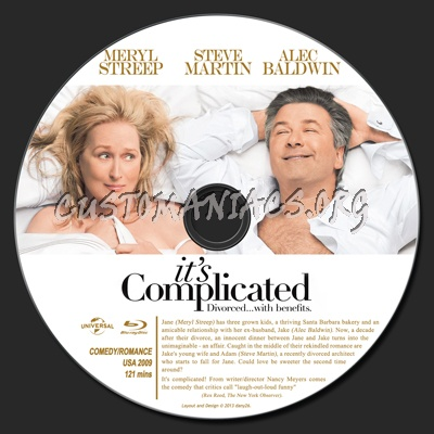 It's Complicated blu-ray label