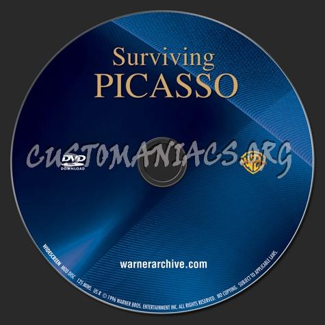 Surviving Picasso dvd label