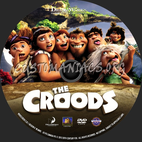 The Croods 2013 Dvd Label Dvd Covers Labels By Customaniacs Id 188061 Free Download Highres Dvd Label