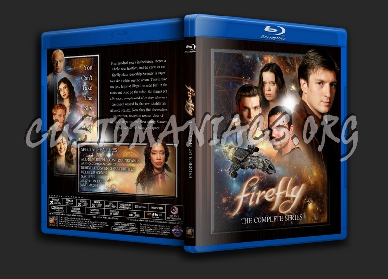 Firefly blu-ray cover