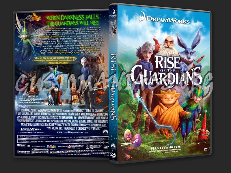 Rise Of The Guardians 2012 Dvd Cover Dvd Covers Labels By Customaniacs Id 188361 Free Download Highres Dvd Cover