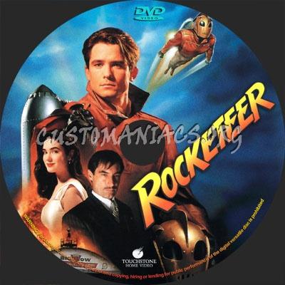 Rocketeer dvd label