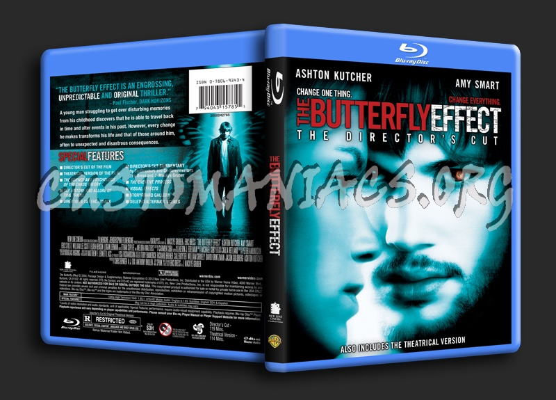 The Butterfly Effect blu-ray cover