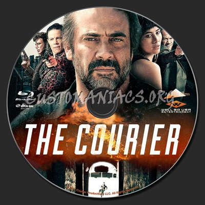 The Courier blu-ray label