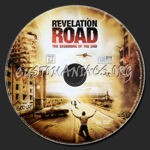 Revelation Road: The Beginning of the End dvd label