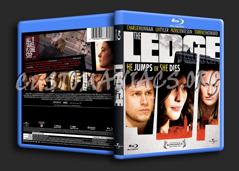 The Ledge blu-ray cover