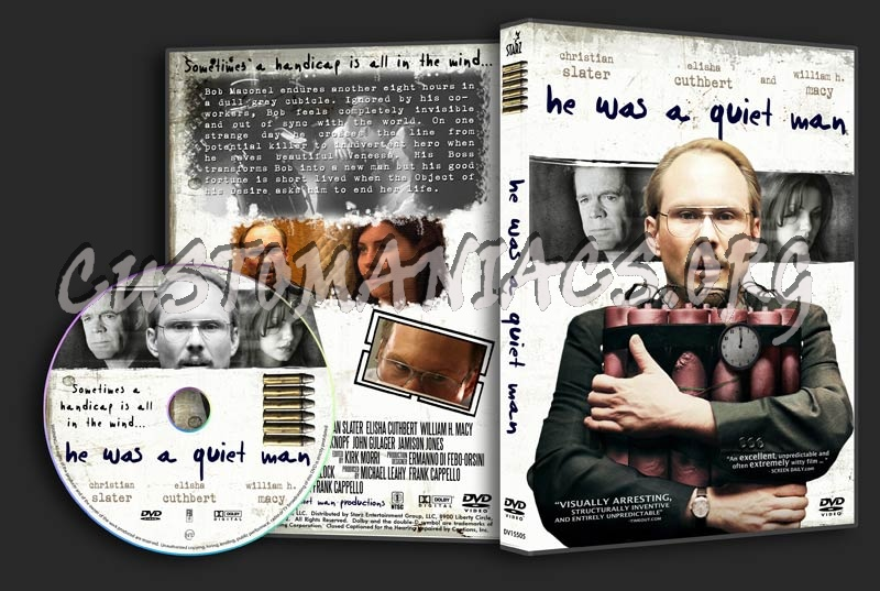He Was a Quiet Man dvd cover