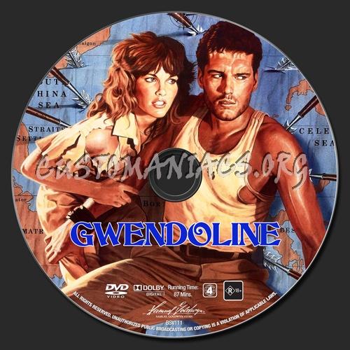 Gwendoline dvd label