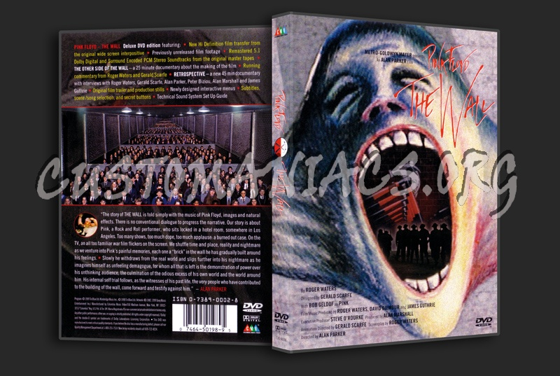 Pink Floyd - The Wall dvd cover - DVD Covers & Labels by ...
