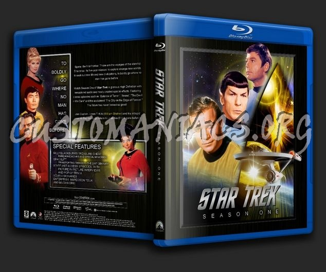 Star Trek - Season 1 blu-ray cover