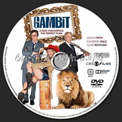 Gambit dvd label