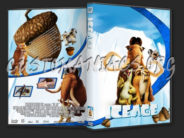 Ice Age  ( The Animation Collection ) dvd cover