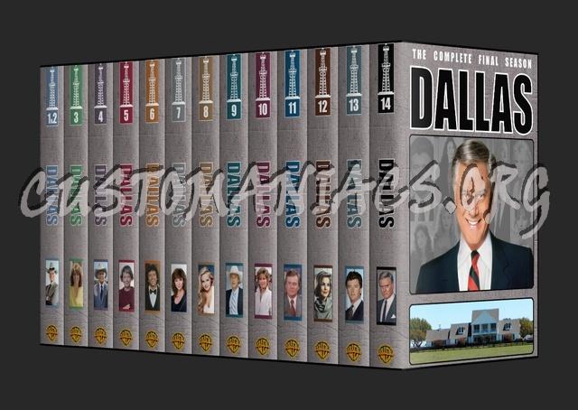 Dallas: The Original Series dvd cover