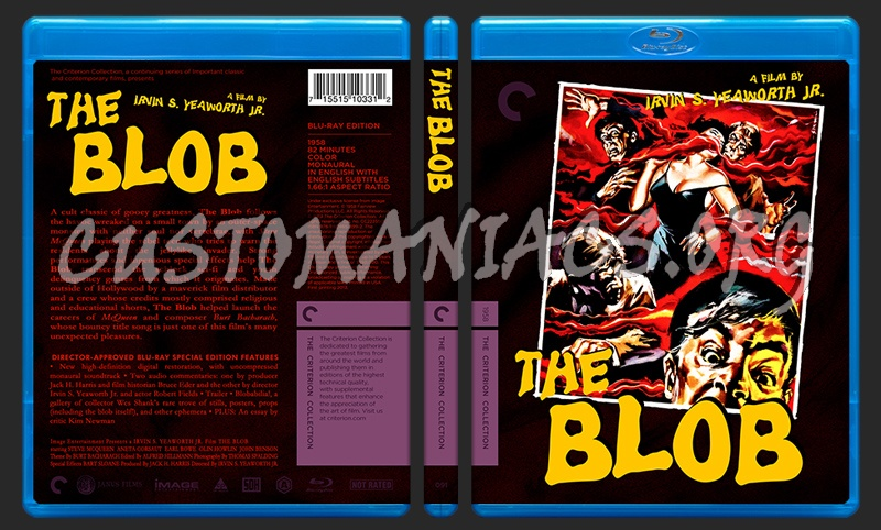 091 - The Blob blu-ray cover
