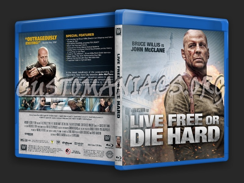 Live Free or Die Hard blu-ray cover