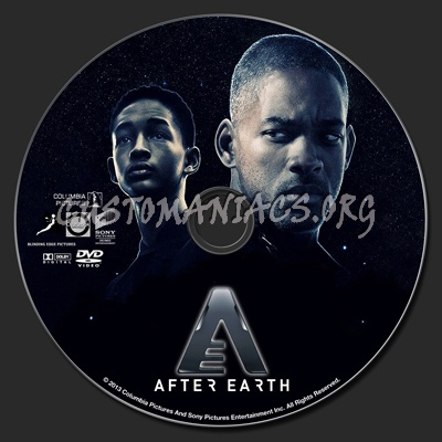 After Earth dvd label