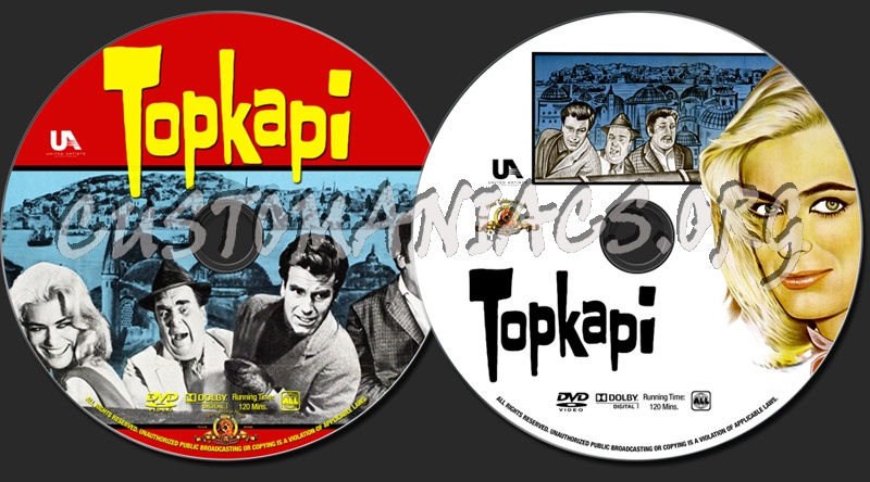 Topkapi dvd label