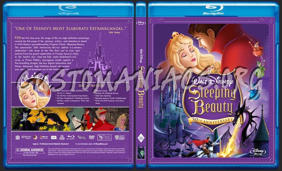 Sleeping Beauty blu-ray cover