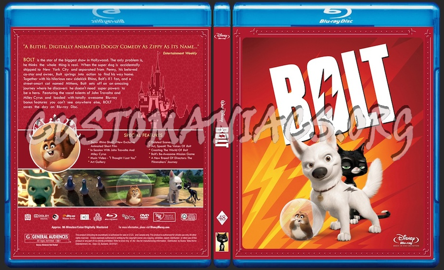 Bolt blu-ray cover