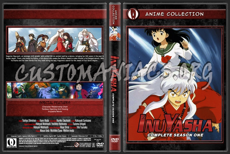 Anime Collection Inuyasha Complete Season One dvd cover