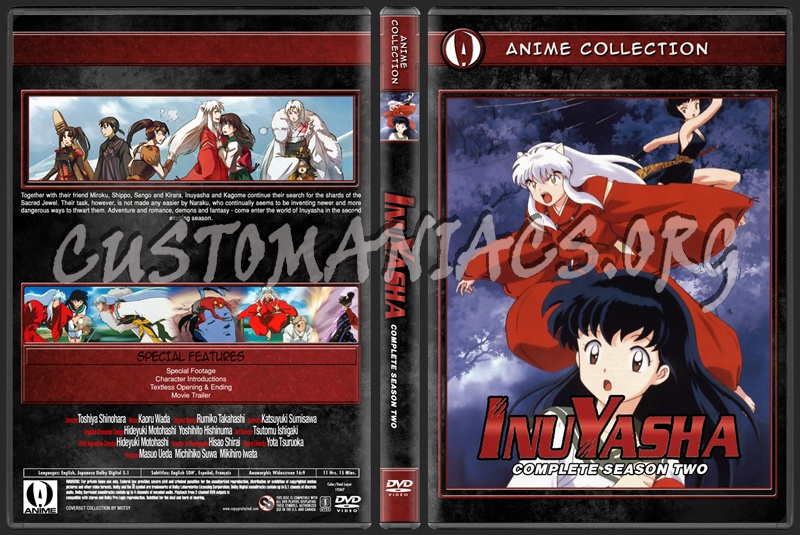 Anime Collection Inuyasha Complete Season Two dvd cover