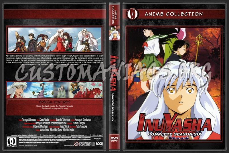 Anime Collection Inuyasha Complete Season Six dvd cover