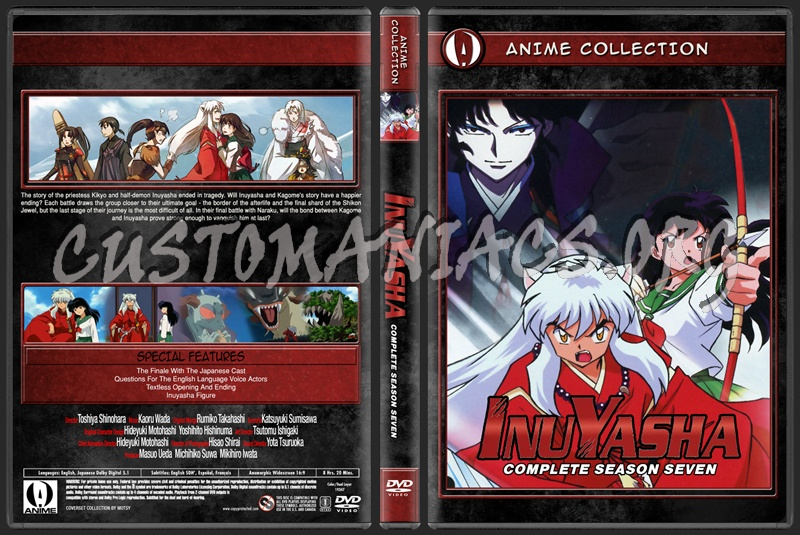 Anime Collection Inuyasha Complete Season Seven dvd cover