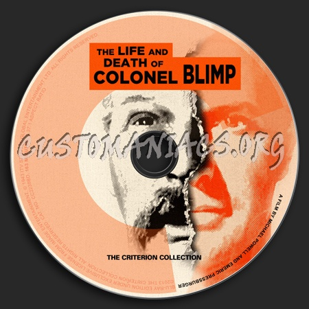 173 - The Life And Death of Colonel Blimp dvd label