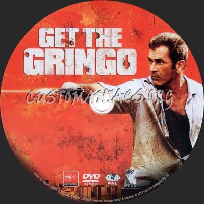 Get The Gringo dvd label