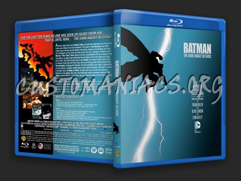 batman the dark knight returns bluray cover dvd covers
