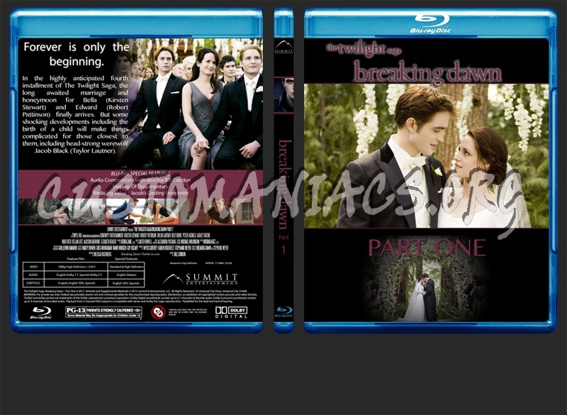 The Twilight Saga dvd cover