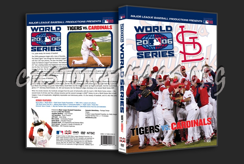 2006 World Series Dvd Cover