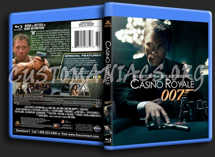 James Bond: Casino Royale blu-ray cover