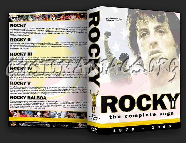 Rocky Collection dvd cover