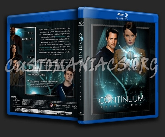 Continuum - Season 1 blu-ray cover