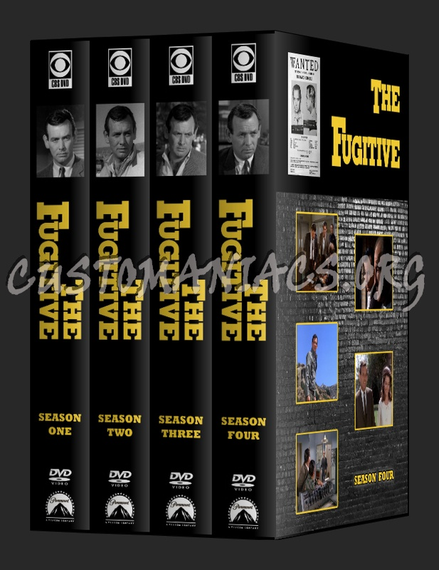 The Fugitive - Seasons 1-4 dvd cover